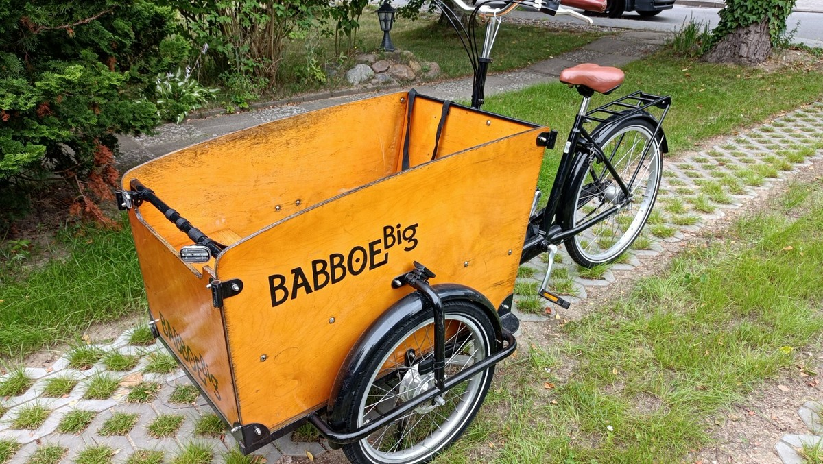 Lastenrad Babboe Big